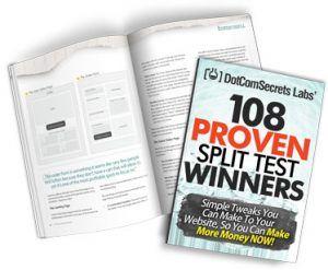 ClickFunnels 108 Proven Split Test Winners Book
